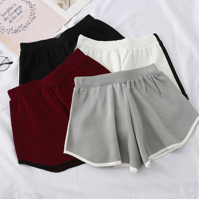 Ежедневни къси дамски панталони в четири цвята
