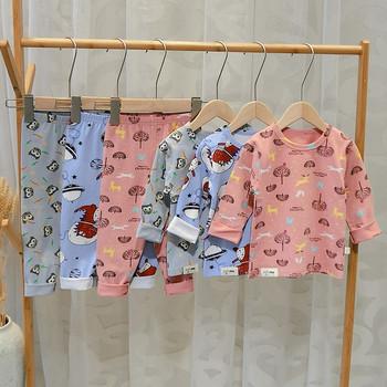 Нов модел детски пижама за момчета и момичета в няколко цвята