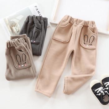 Нов модел детски панталон с джобове за момичета