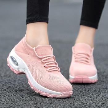 Модерни  дамски маратонки с дебела подметка в няколко цвята