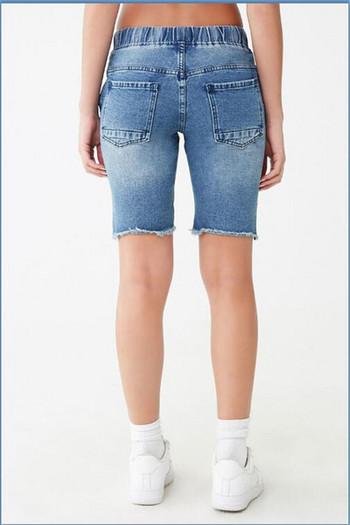 Дамски ежедневни къси панталони с еластична талия