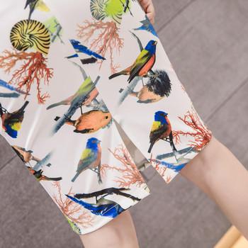 Дамска модерна пола с висока пола в два цвята