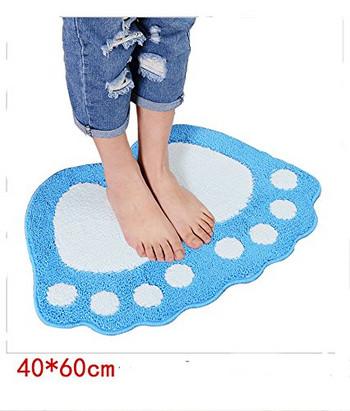 Абсорбираща противоплъзгаща се  подова постелка с  размери 40х60 см