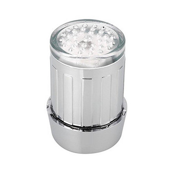 Светещ накрайник за чешма променящ цвета си спрямо температурата на водата - без батерия