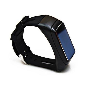 Смарт гривна 2в1 с безжична слушалка Jackom B3 - педометър, сърдечен ритъм, изразходвани калории - черен цвят