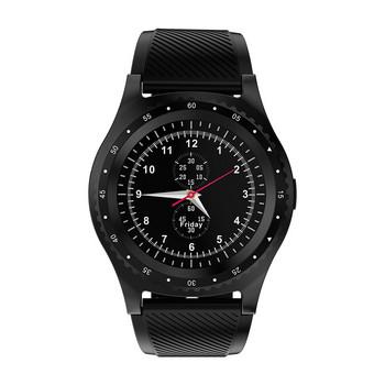 Смарт часовник с камера и USB кабел модел L9, съвместим с Android/IOS - черен цвят