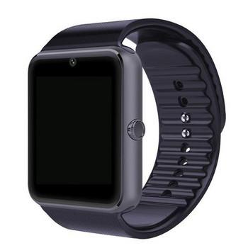 Смарт часовник с камера и измерващ мониторинг на съня - модел GT08 в черен цвят