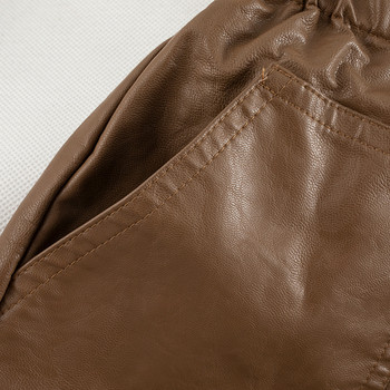 Дамски къси панталони в два цвята с връзки и джобове