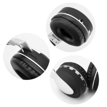 Безжични, Bluetooth стерео спортни слушалки с микрофон и FM функция модел MS-K9