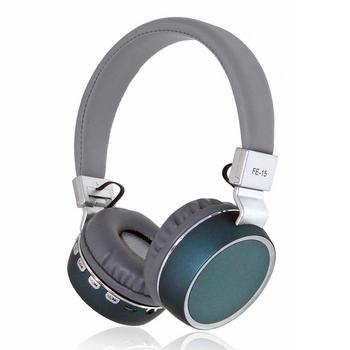 Сгъваеми Bluetooth  слушалки модел FE-15 ,съвместими с Android/ iOS /Windows и поддръжка на TF Card, FM радио