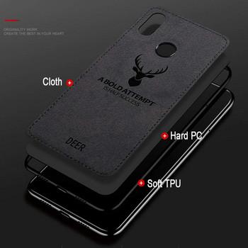 Противоударен силиконов калъф с гръб наподобяващ кожа за Xiaomi RedMi Note 5 Черен - Reer case