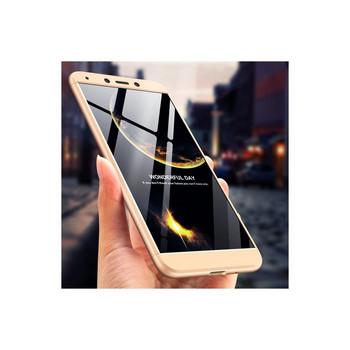 Защитен калъф тип протектор за Xiaomi Redmi 6A, Златист