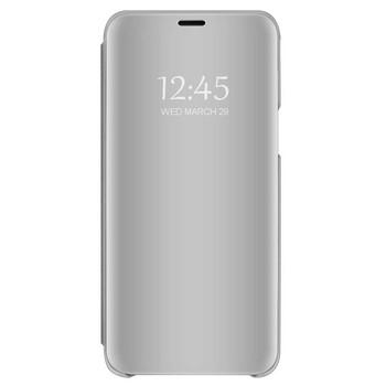 Огледален калъф модел Flip за телефон Xiaomi Redmi Note 4 в сив цвят