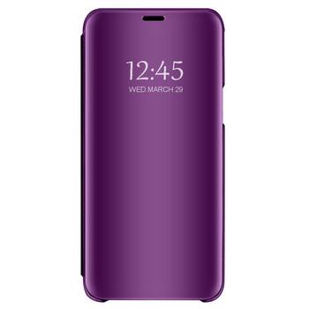 Огледален калъф модел Flip за телефон Xiaomi Redmi Note 4 в лилав цвят