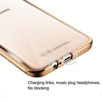 Удароустойчив силиконов калъф за Samsung galaxy J3 -  в розов цвят