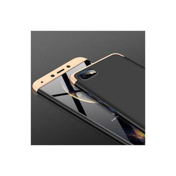 Защитен калъф тип протектор за Xiaomi Redmi 6A, Черен/Златист