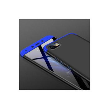 Защитен калъф тип протектор за Xiaomi Redmi 6A, Черен/Син