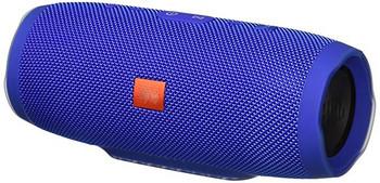 Водоустойчива преносима колонка модел Charge 3+  с Bluetooth,USB,AUX свързаност и слот за TF card- син цвят