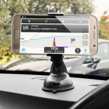 Универсална стойка за кола за смартфон, GPS навигация, GSM Черен цвят