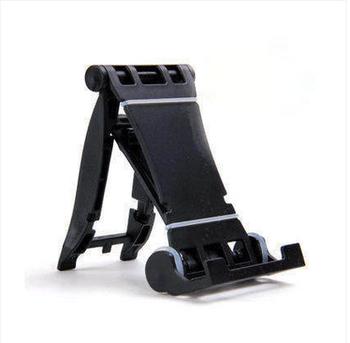 Пластмасова стойка за Таблет,Телефон за бюро, iPad и степени за корекция на ъгъла - черен цвят