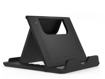 Универсална пластмасова настолна поставка за телефон, Черен цвят