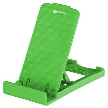 Пластмасова стойка за Телефон за бюро, 5 степени за корекция на ъгъла - Зелен цвят