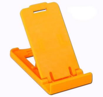 Пластмасова стойка за Телефон за бюро, 5 степени за корекция на ъгъла - Оранжев цвят