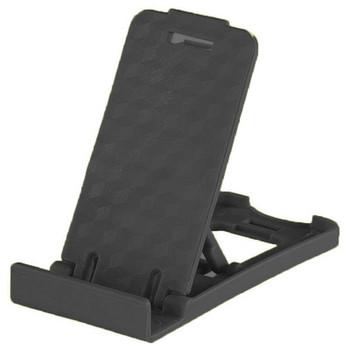 Пластмасова стойка за Телефон за бюро, 5 степени за корекция на ъгъла - Черен цвят