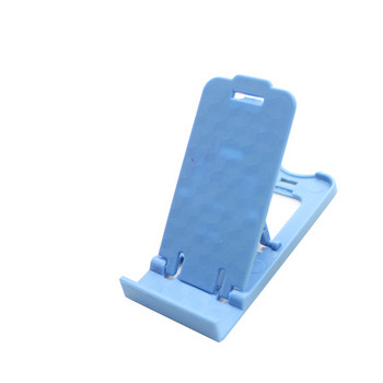 Пластмасова стойка за Телефон за бюро, 5 степени за корекция на ъгъла - Син цвят