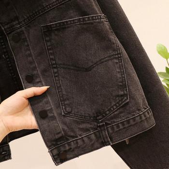 ΝΕΟ μοντέλο μοντέρνο γυναικείο μπουφάν σε σκούρο χρώμα