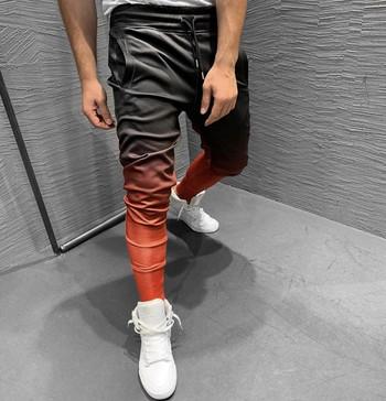 Нов модел спортно мъжко долнище в преливащи се цветове