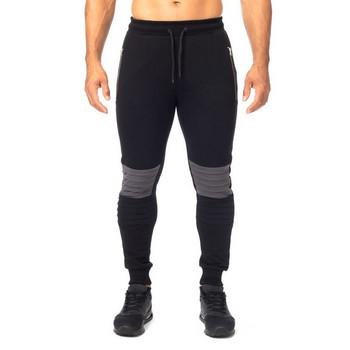 Мъжко спортно долнище с джобове в три цвята