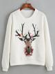 дамска блуза със елен