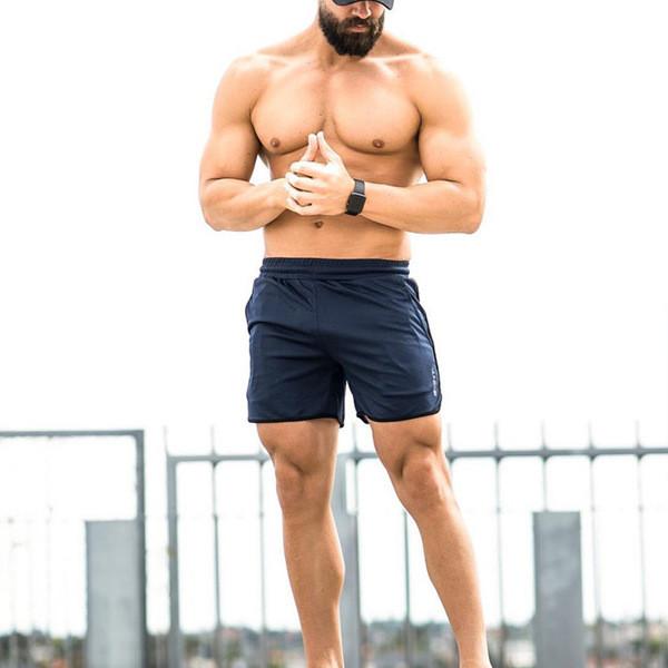 Мъжки къси панталони  с ластик в три цвята