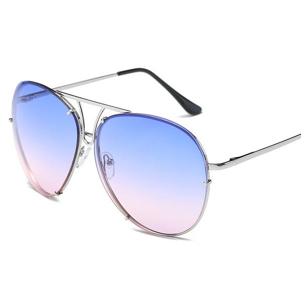 Модерни дамски очила с кръгла форма в няколко цвята