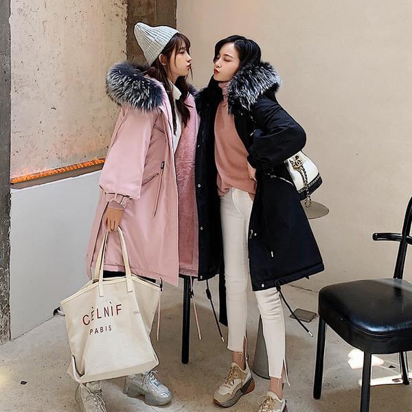 Χειμερινό γυναικείο μπουφάν με απαλή επένδυση σε διάφορα χρώματα