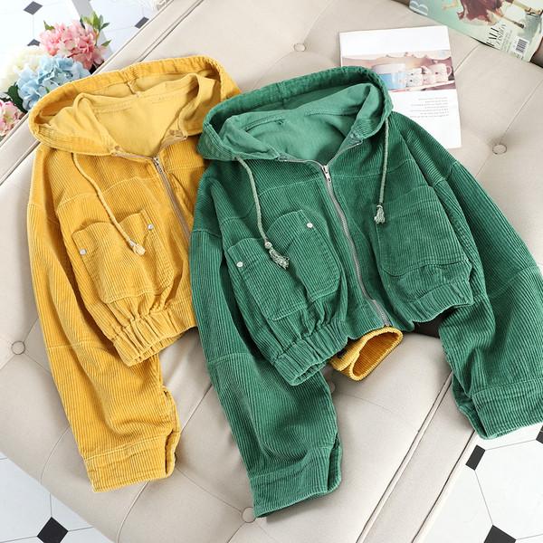 Γυναικείο  μπουφάν για το φθινόπωρο με κουκούλα σε διάφορα χρώματα