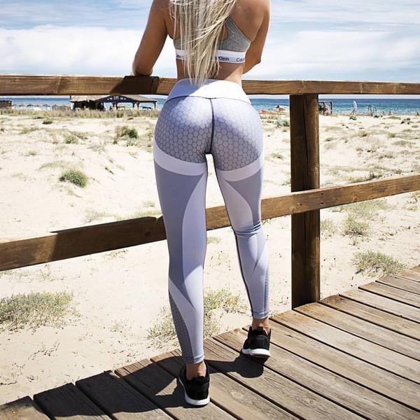Модерен дамски спортен клин в сив цвят