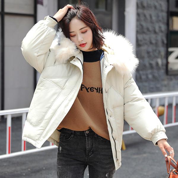 Μοντέρνο γυναικείο μπουφάν με κουκούλα και μακρύ μανίκι σε διάφορα χρώματα