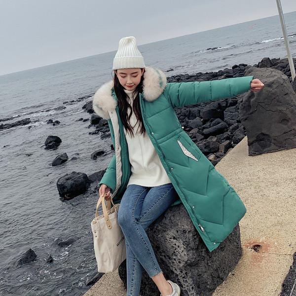 Μοντέρνο μακρύ χειμωνιάτικο σακάκι για γυναίκες με κουκούλα  σε διάφορα χρώματα