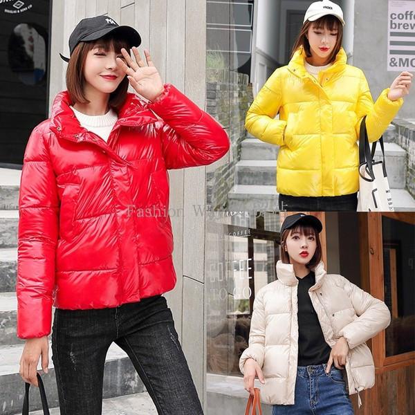 Νέο μοντέρνο γυναικείο μπουφάν με φερμουάρ και κουμπιά σε διάφορα χρώματα