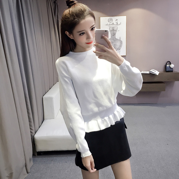 Дамска ежедневна блуза в няколко цвята с широки ръкави