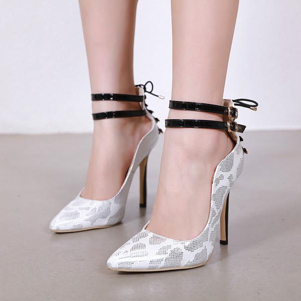 Νέο μοντέλο γυναικέια παπούτσια με ψηλό τακούνι και ζωικό τύπομα