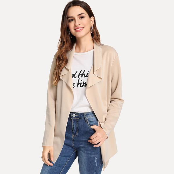 Μοντέρνο γυναικείο μπουφάν για το φθινόπωρο σε ροζ χρώμα