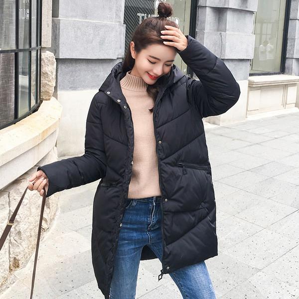Μοντέρνο χειμερινό γυναικείο μπουφάν με κουκούλα σε διάφορα χρώματα