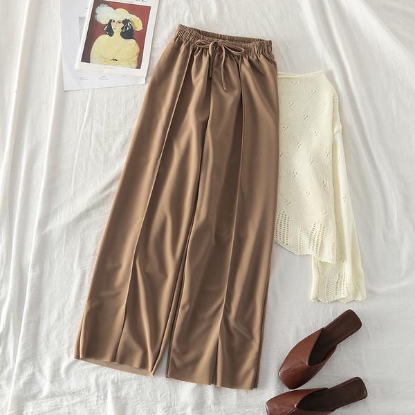 Модерен дамски панталон  с ластик в три цвята