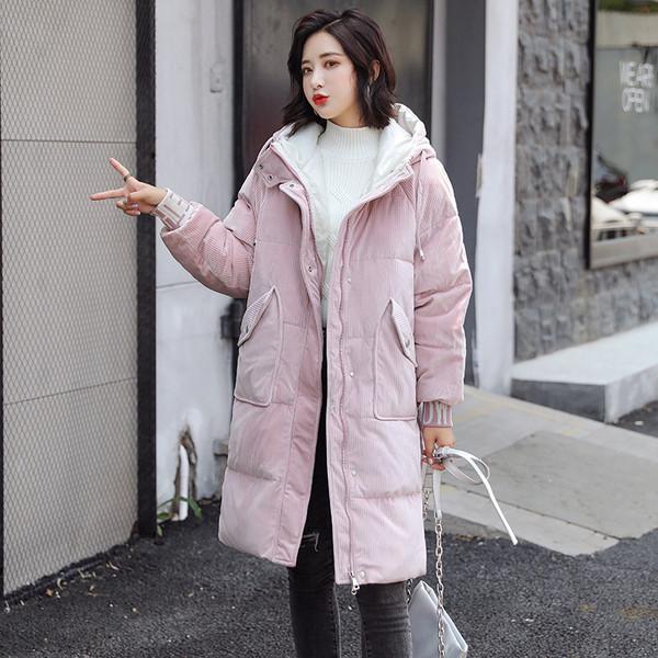 Μοντέρνο γυναικείο μπουφάν με τσέπη και κουκούλα σε τρία χρώματα