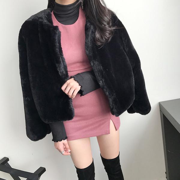 Модерно дамско палто с копчета в няколко цвята