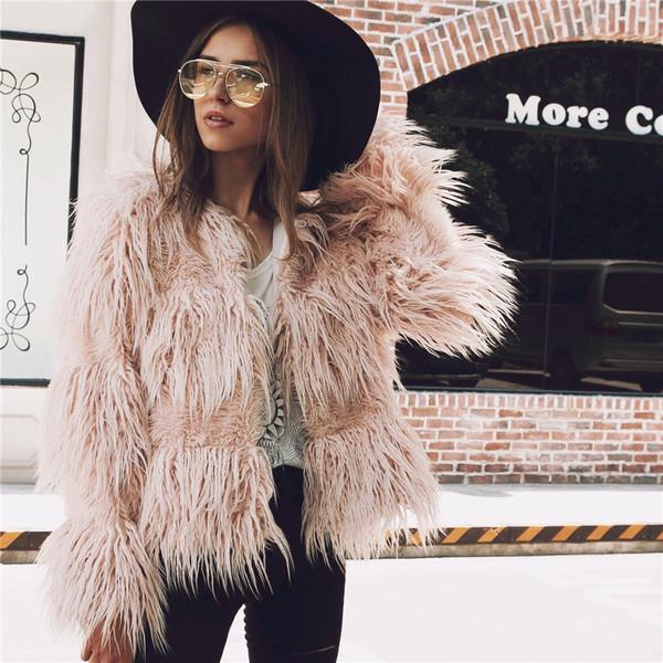 Модерно дамско късо палто без закопчаване в няколко цвята