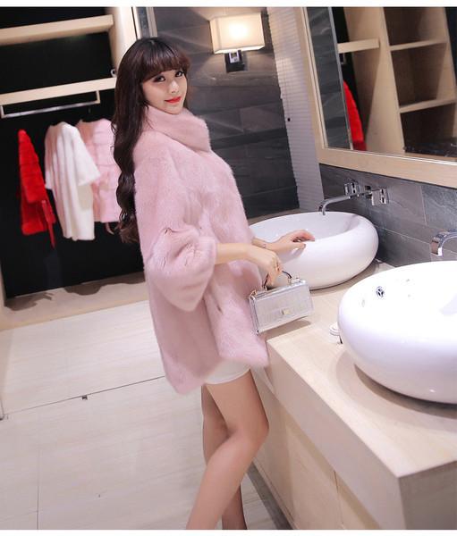 Елегантно дамско дълго палто с висока яка и дълъг ръкав в няколко цвята